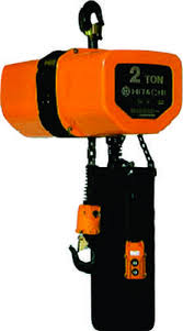 Jual Electric Chain Hoist Hitachi 1 Ton Distributor